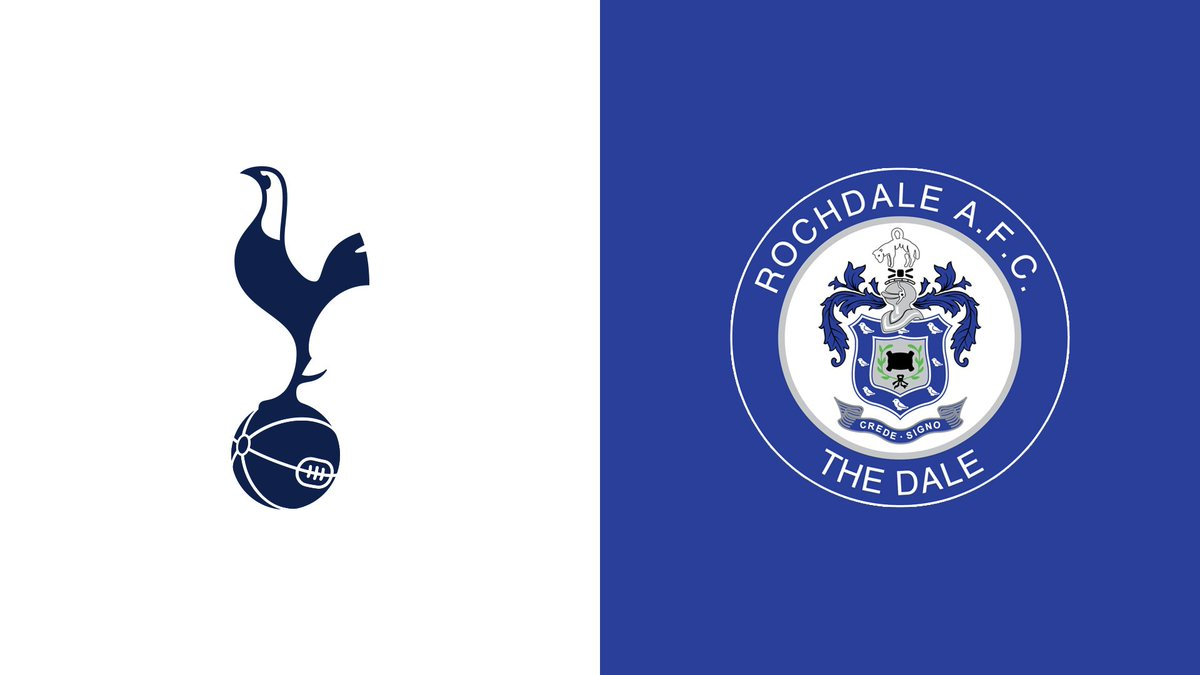 Image result for Tottenham Hotspur vs Rochdale