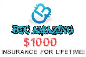 Image for BTC AMAZING has added Golden Insurance !