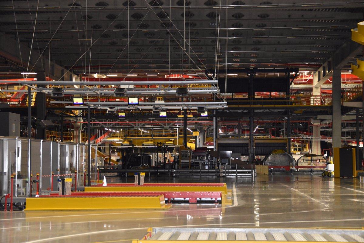 DHL sorting system