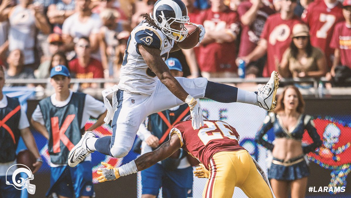 The Daily Dose: Rams Rookie Snap Counts, Ranking Gurley's Best Hurdles  #LARams news 🗞 » https://t.co/k4OPKZp8ep
