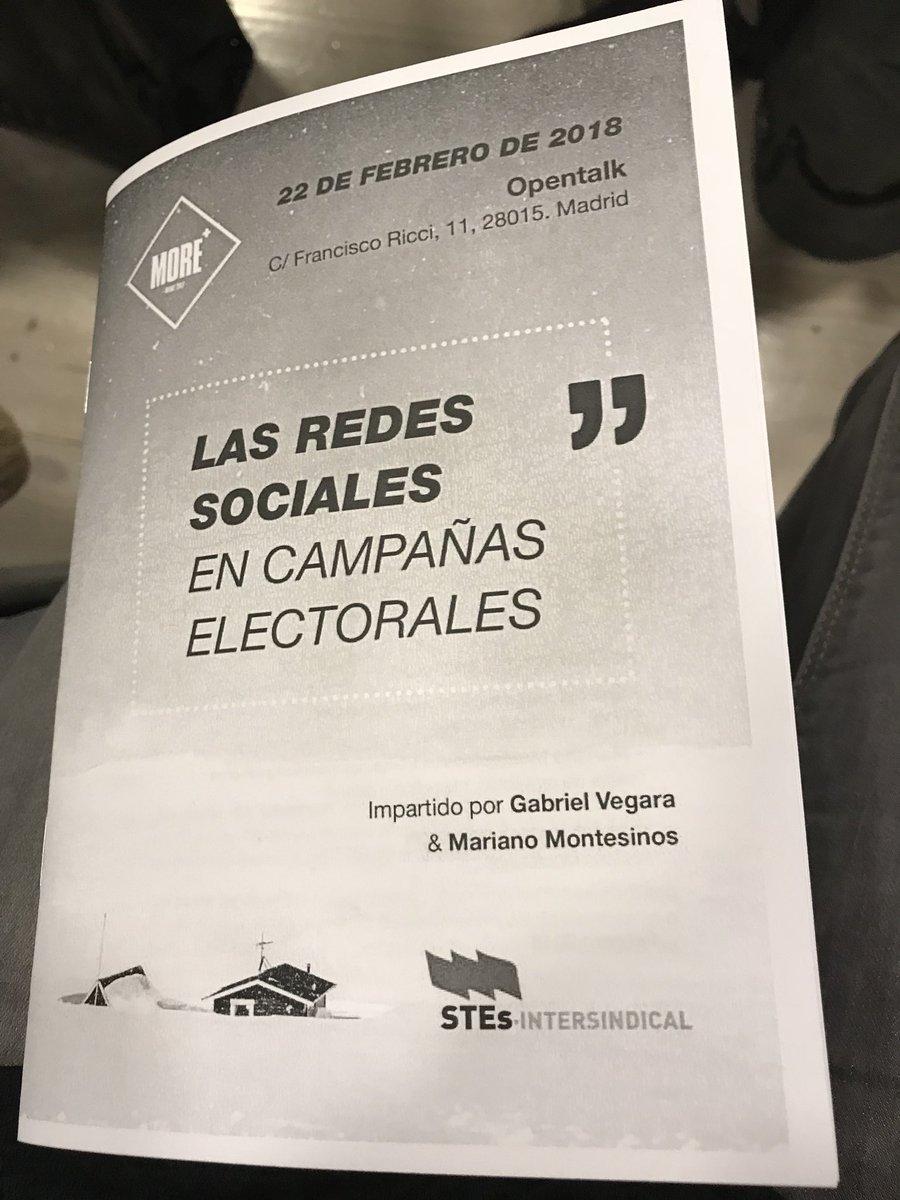 A les #JornadasSTES a Madrid @STESInters...