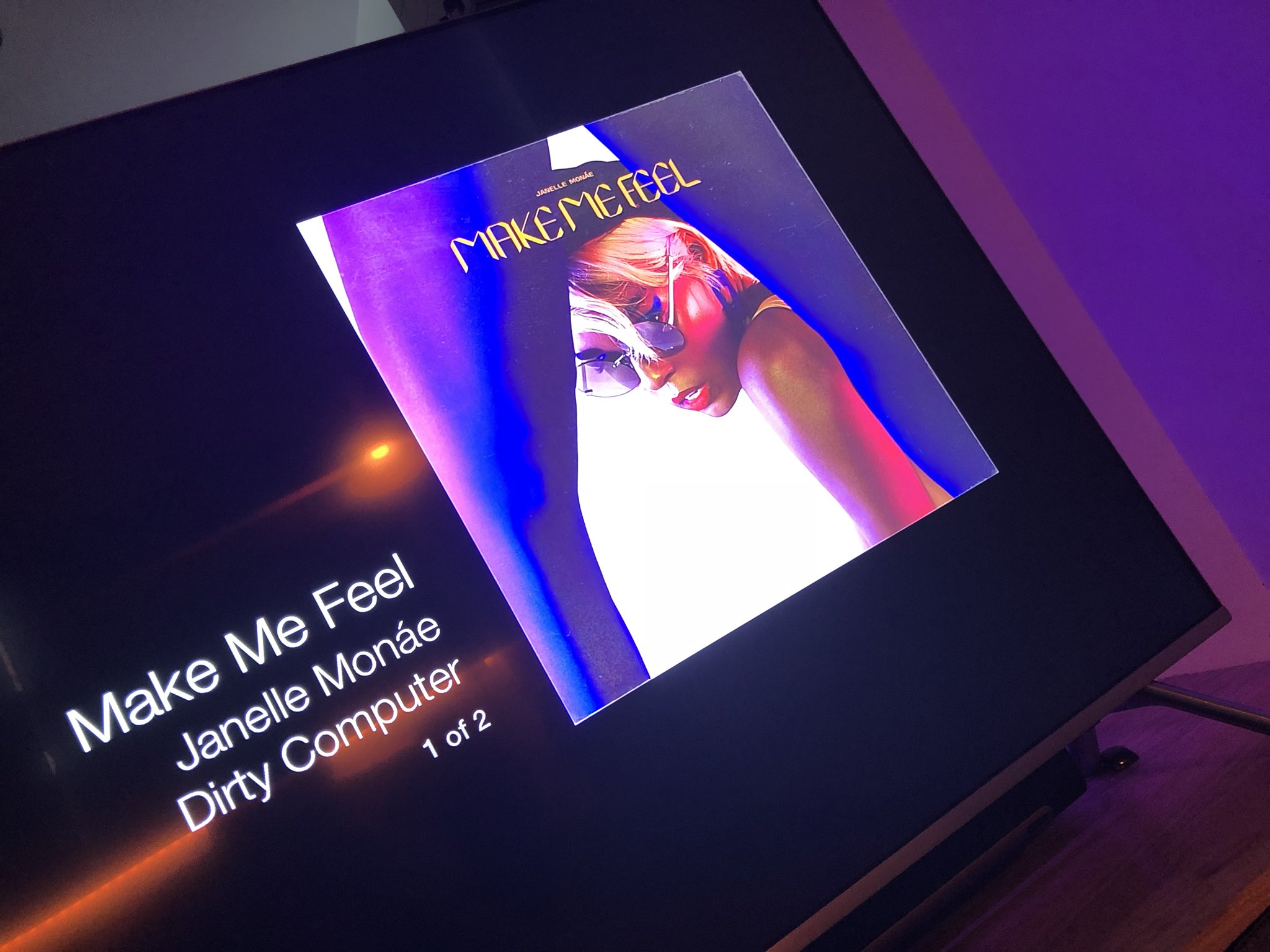 RT @ElliotCrutchley: JANELLE IS FUCKING HERE!!!!! @JanelleMonae @zanelowe WOW!!! https://t.co/cbobjzqRwh
