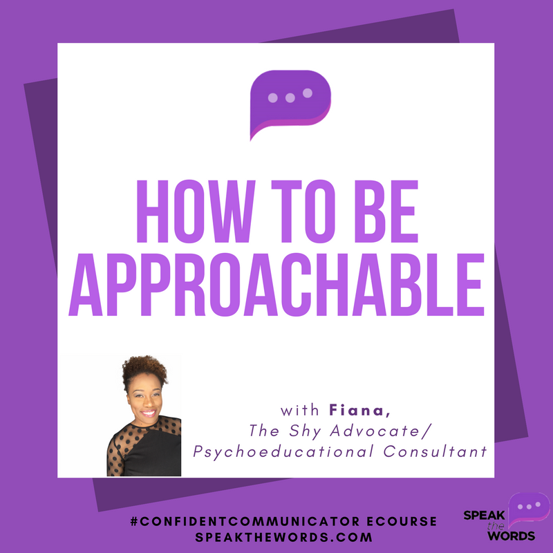 how to be approachable