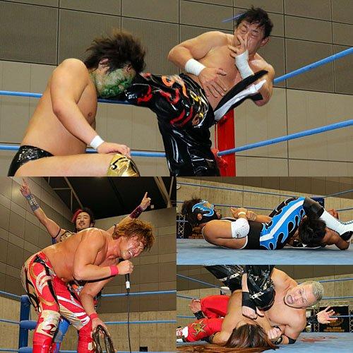 """AJPW: Resultados """"Jr. Battle of Glory"""" Días 7 y 8 3"""