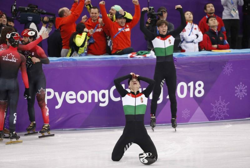 Short track: Hungary storm to first Winter Games gold https://t.co/YepCIwzDnu https://t.co/HP4Ll3ff5C