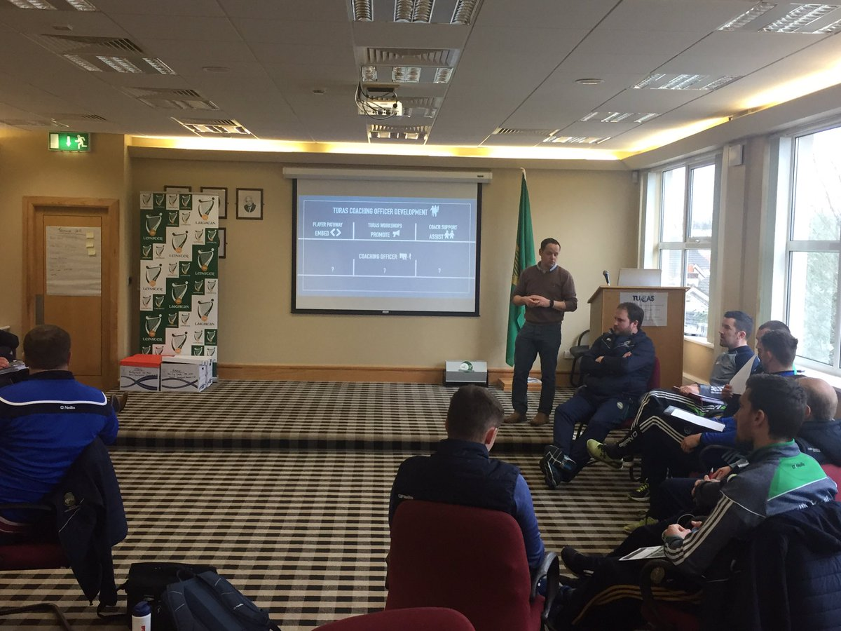 test Twitter Media - TURAS Coach Development inservice in full swing with all our @CLGLaois and @Offaly_GAA staff #TURAS https://t.co/IUUUkQSo2U