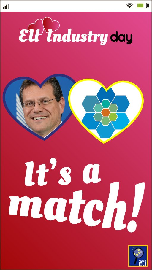 Wonder what the #gas lobby will be asking for if they happen to meet @MarosSefcovic at the #EUIndustryDay? 💘💐  More subsidies for #climate-wrecking pipelines?  #NoTap #NoRoomForGas #FossilFree