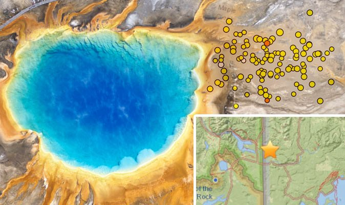 Yellowstone earthquakes 2018: Was there an earthquake tremor at National Park today?https://t.co/rtM0PlpcRs