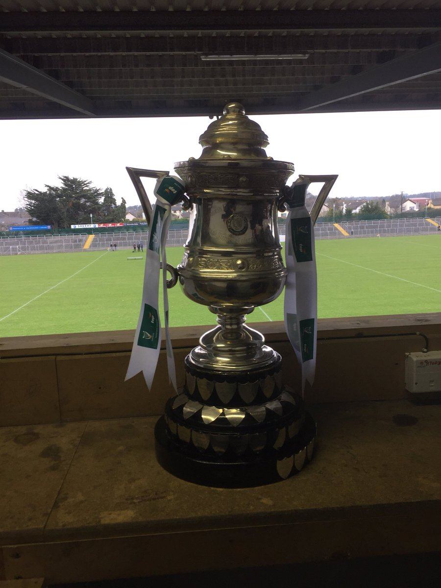 test Twitter Media - Top Oil Leinster SH A colleges trophy waiting to be collected after a battle of hurling talent in NCP Carlow @gaaleinster @TopOil https://t.co/YfOQXYA1wL