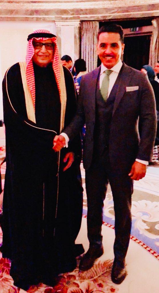 مع الصديق السفير خالد الدويسان في حفل ال...