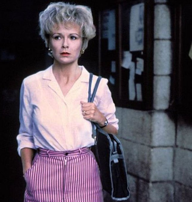 Happy birthday to Julie Walters. Photo from Educating Rita, 1983.