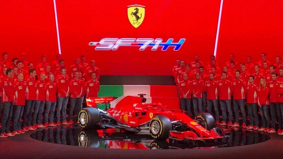 F1 Images On Twitter And Here She Is Scuderia Ferrari 2018 Car The Sf71h F12018 Sf71h Ferrari F1