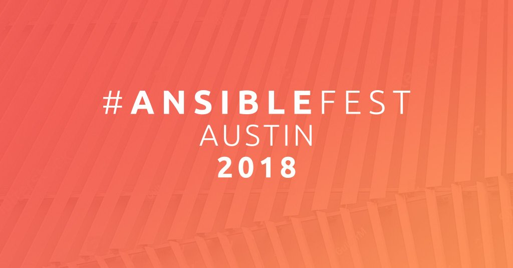 Red hat ansible ansible twitter well be in austin for two full days of conference on oct 2 3 sign up now to be notified when tickets go on sale httpshubsh0b3png0 picitter fandeluxe Choice Image