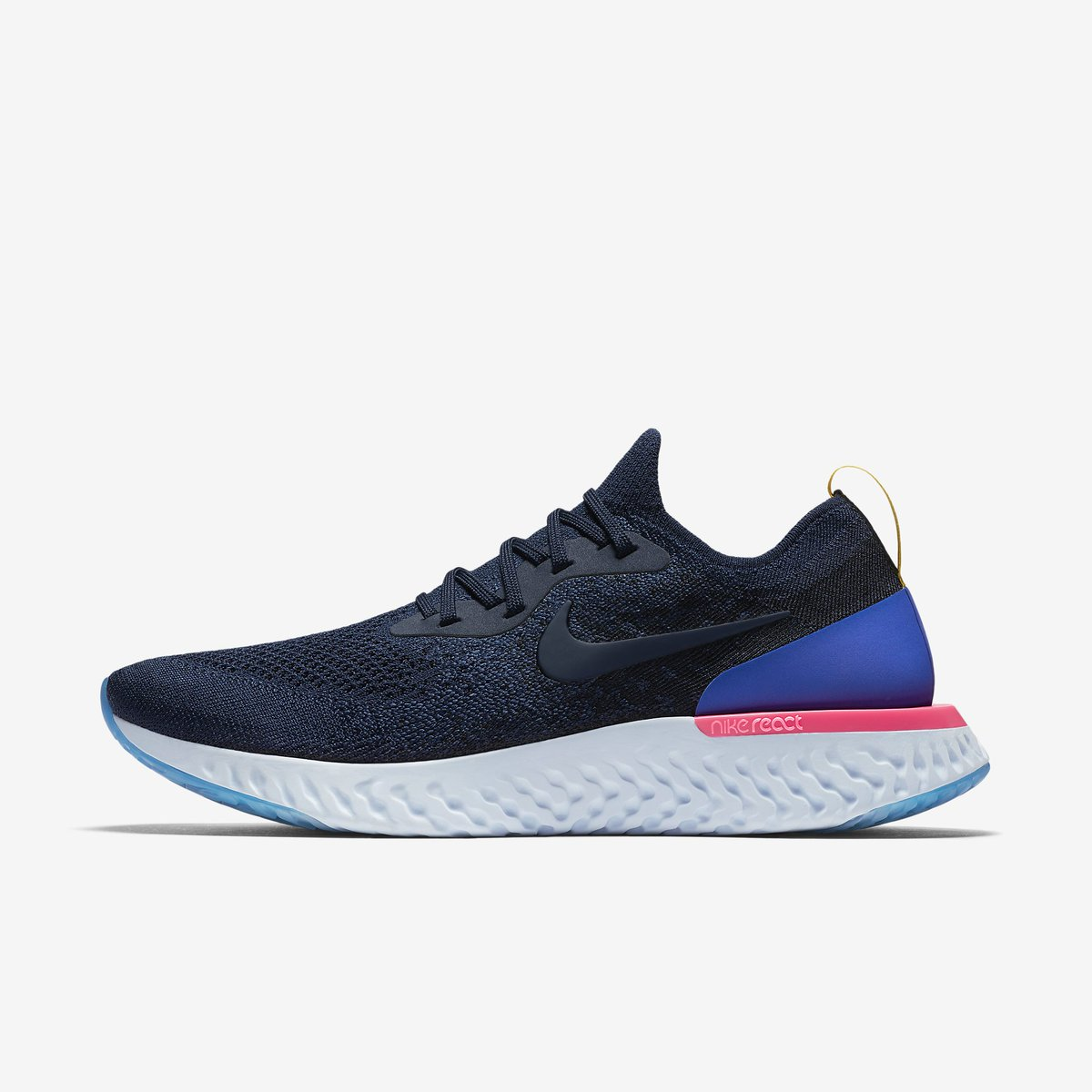 cb5f5a61450bf Nike Epic React Flyknit on Eastbay with FREE shipping Navy -   https   go.j23app.com 6kf White -  https   go.j23app.com 6kf  refresh at  9 59am ...