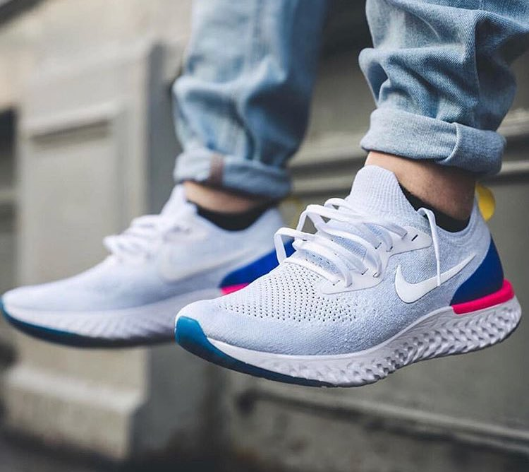 92b95d918282 Sizes selling out Nike Epic React Flyknit  White   Dicks http   bit.ly 2FfoGyR Fleet http   bit.ly 2GE9SJF Sold out on Nike