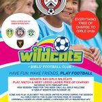 New session times this Saturday for our Wildcats, exciting opportunity to play, watch and meet the Leeds United ladies!All girls welcome! click link for further info...  https://t.co/vWW8OGIsFL  @cornwallfa #cornishfootball @MountsBaySchool