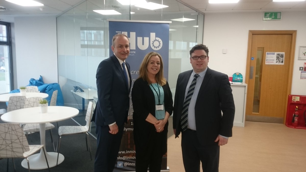 test Twitter Media - Delighted to have Micheal Martin TD visit our Social Innovation Hub today and meet our Hubbers! #social innovation #coworking #hub #startups #ballymun https://t.co/oBFFp24DRU