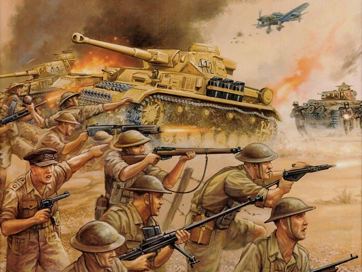 La guerra de antes, la guerra de ahora h...