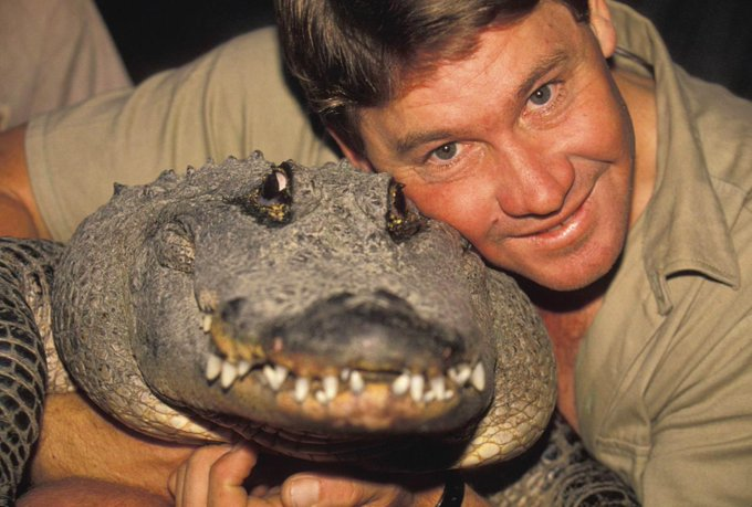 Happy Birthday to Steve Irwin from all of us at DoYouRemember. Gone but never forgotten!