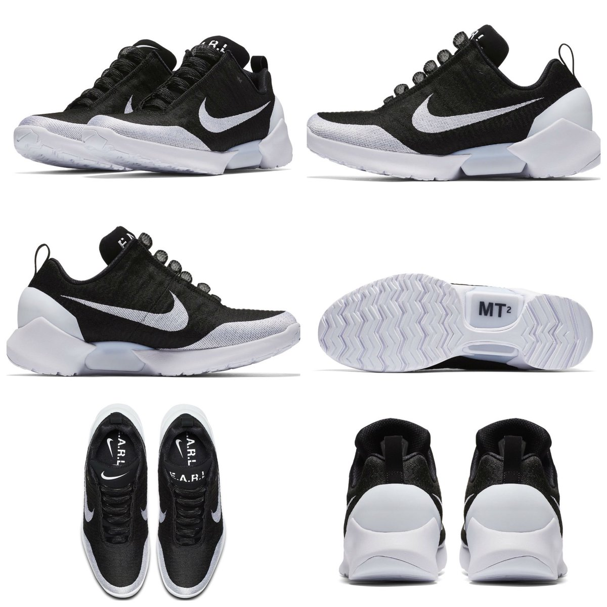 0e732030950d4 Official images of the Nike HyperAdapt 1.0 set to drop next month Black/ White AH9389-011 $720 #snkr_twitrpic.twitter.com/OxlwKleilW
