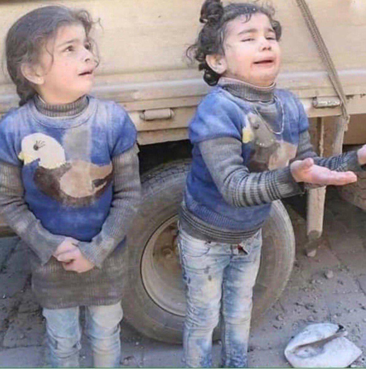 If this innocent children in Syria don't...
