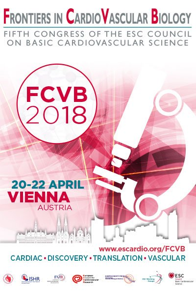 Register here for Frontiers in CardioVascular Biology 2018. 20-22 April, Vienna https://t.co/OAnW0rZ0IG