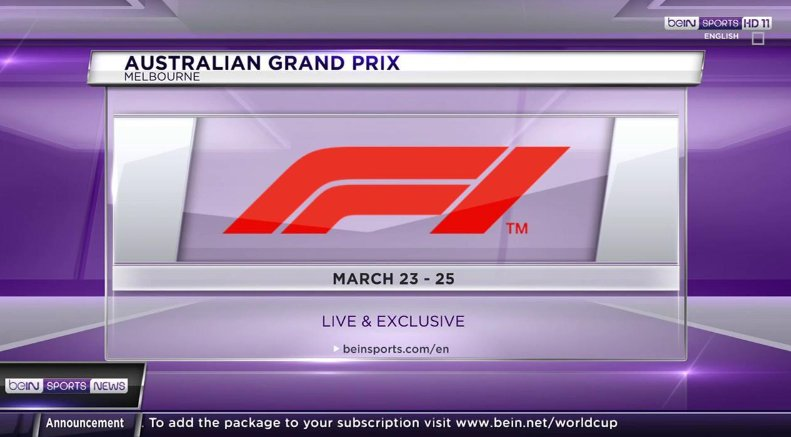 #AustralianGP Latest News Trends Updates Images - beINSPORTS