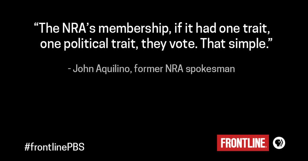 From the archives: The politics of guns, as told by former NRA insiders. https://t.co/d5Dk6fzrNh