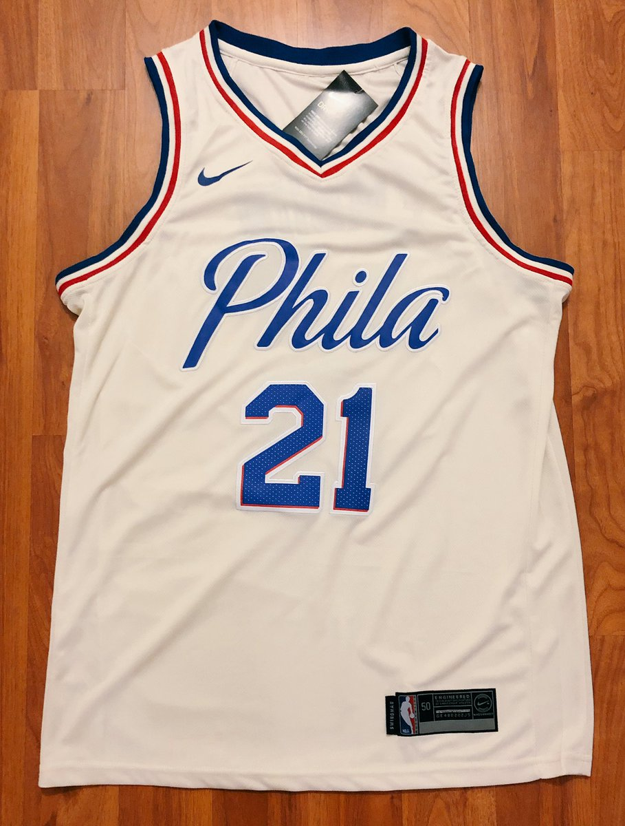 EMBIID JERSEY GIVEAWAY 🚨 RETWEET for a chance to win! (must be following)  Winner randomly drawn at halftime of Sixers - Cavs on Thursday 4e4bbd1ed