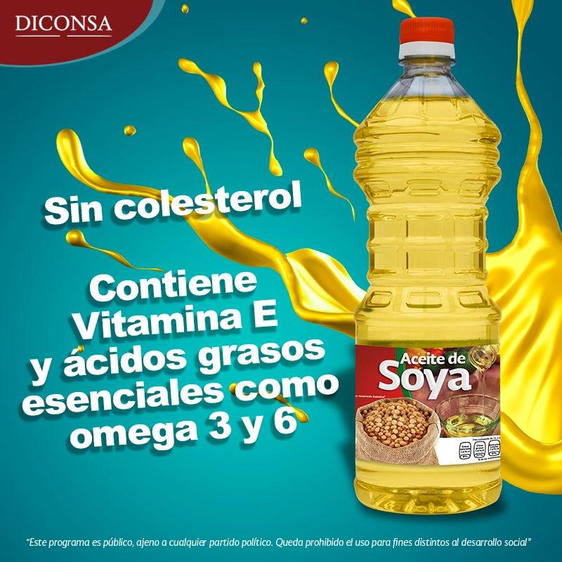 ¿Ya conoces el aceite de soya marca DICO...