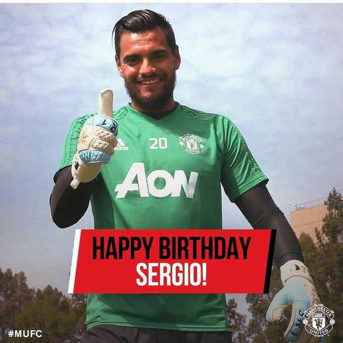 Happy Birthday Sergio Romero