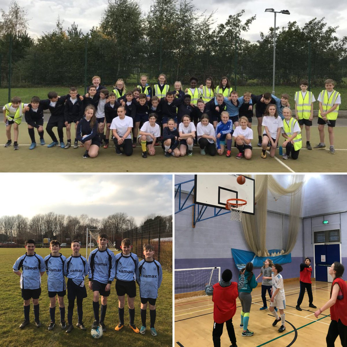 Great turn out for the running, football and basketball extra-curricular clubs tonight. Good luck to the year 8 football team against @AGS95676884