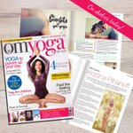 Image for the Tweet beginning: The new issue of #omyogamagazine