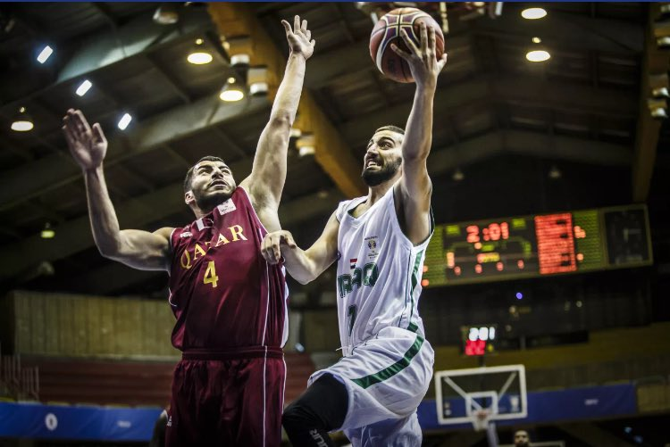 Qatar defeat Iraq in FIBA Basketball World Cup qualifiers