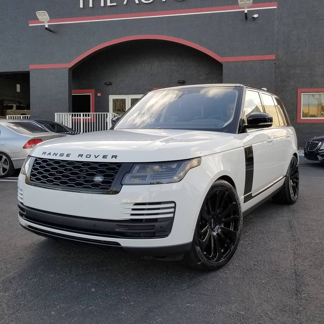 "2018 Range Rover Supercharged: Alex Vega On Twitter: ""First 2018 Range Rover Full Size On"