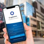 Image for the Tweet beginning: Cryptonex mobile application is being