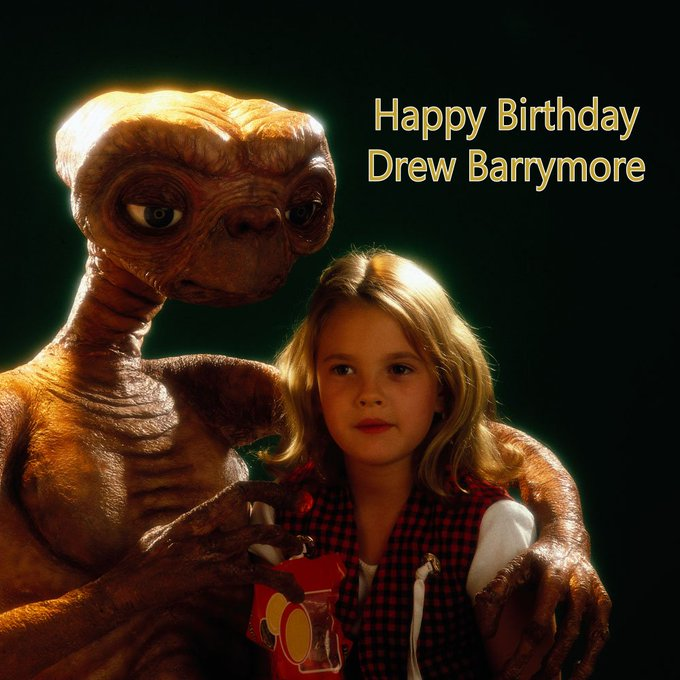 Happy birthday, Drew Barrymore! We hope you have a birthday worth phoning home about!