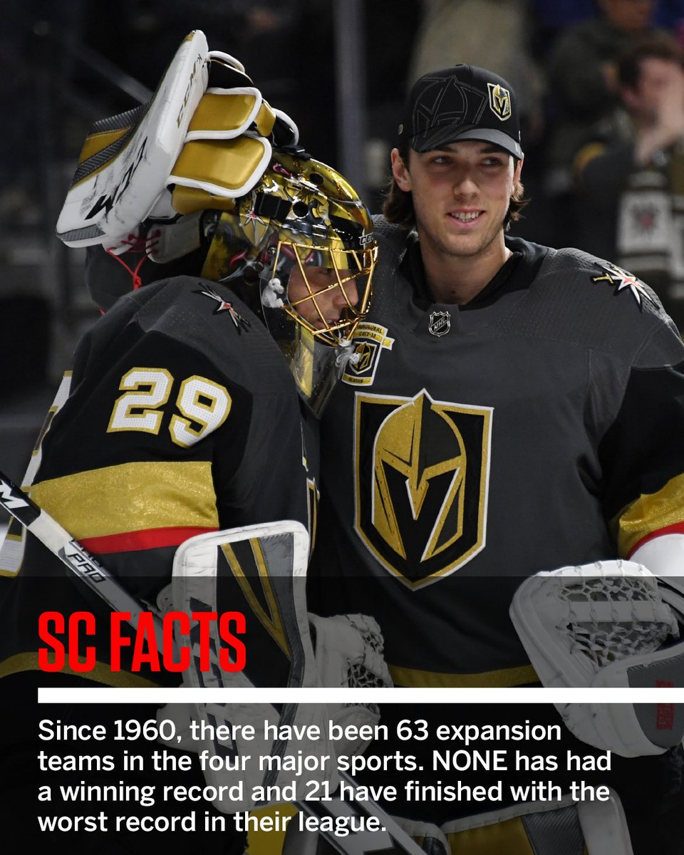 The Golden Knights have already made history. #SCFacts