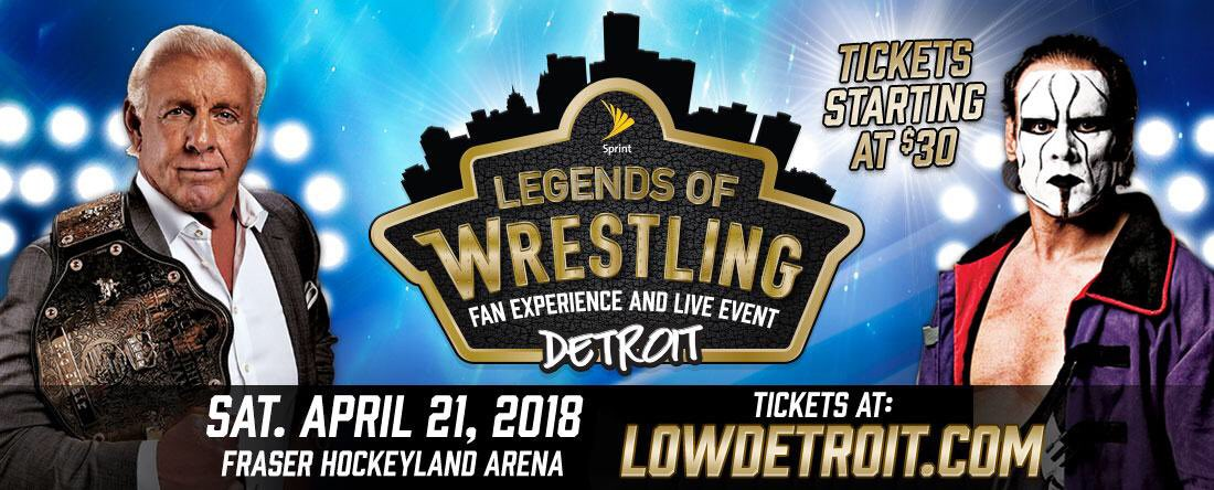See Me In Detroit Saturday 4/21 With @LgndsofWrstlng...Tickets On-Sale Tomorrow, Friday 2/23 10am ET at LOWDETROIT.COM