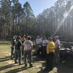 Great work by our district Wildland Firefighters today.  Nearly 300 acres of hazardous fuels removed and working with our partners provides incredible opportunities for all.