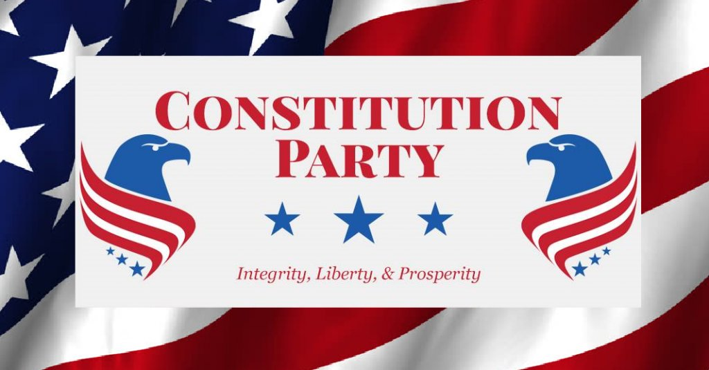 constitution party The constitution party of maryland, in its first ever election season to run a record 10 candidates for partisian 'marylanders for constitutional governance: an association of the constitution party of.