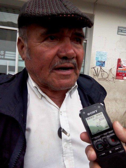 Entrevista a padre de líder social que s...