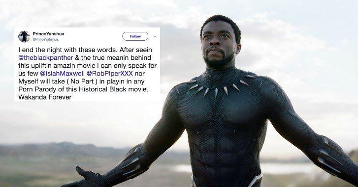 black panther porn