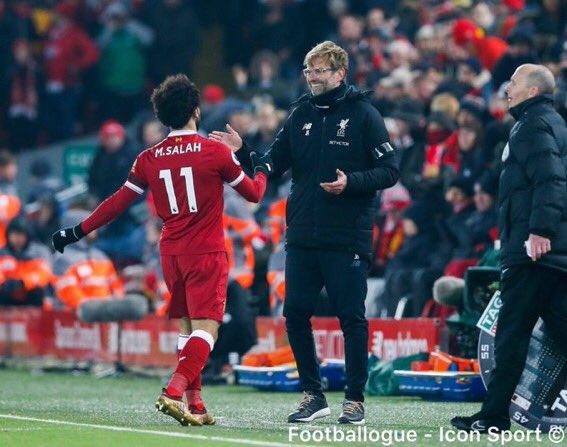[#Decla💬] Totti: « Le niveau auquel Salah joue actuellement en fait l'un des meilleurs joueurs du monde et je pense qu'il peut faire encore mieux.»