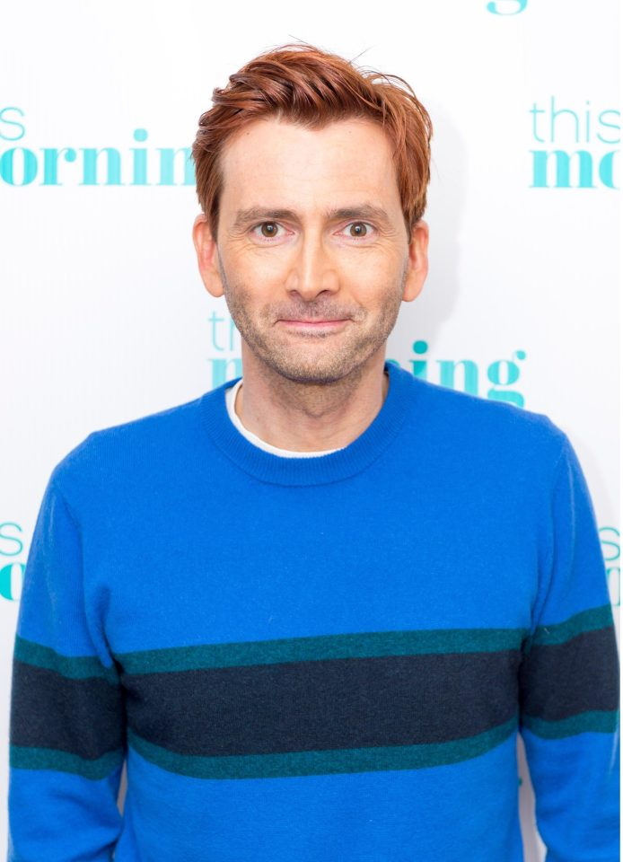 David Tennant on This Morning - 22/2/18