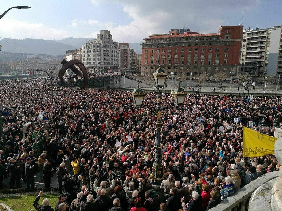 📸 Manifestaciones por una #PensionesDign...