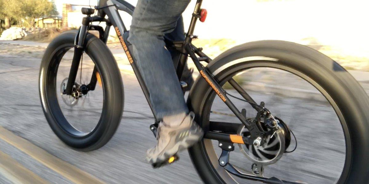 04fe6f69417 Rad Power Bikes RadRover Electric Fat Bike Review Part 2  Ride   Range Test   VIDEO     https   electricbikereport.com rad-power-bikes-radrover-review-2   …