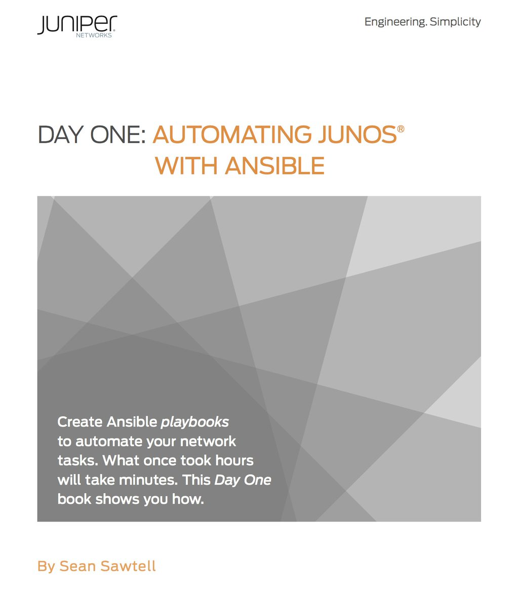 Junos Automation]]] on Twitter: