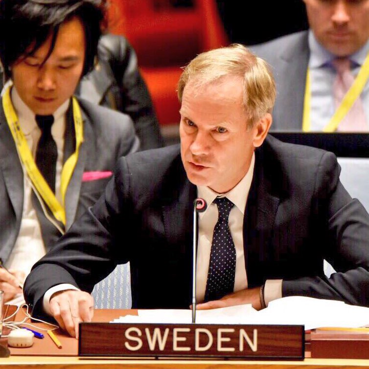 """It's time for the #UNSC to come together, to shoulder its responsibility to urgently avert a situation that is beyond words in its desperation.  On behalf of 🇸🇪&🇰🇼, I urge all Council members to support this resolution. If adopted, it can save lives.""  #Syria #EasternGhouta"