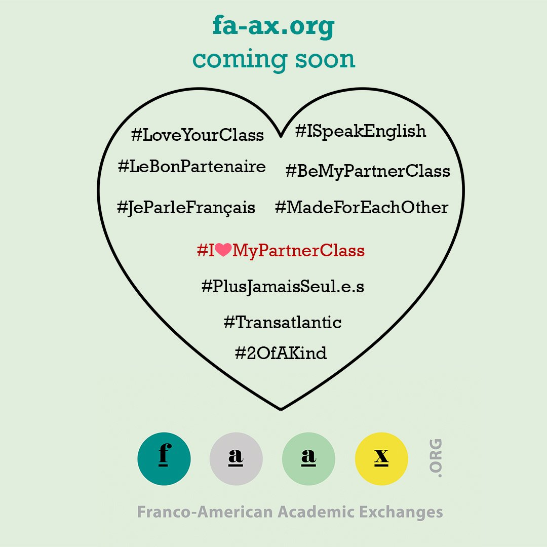 The @USEmbassyFrance is launching French-American Academic Exchanges or FAAX, a user-friendly tool to find a partner for an exchange program/partnership with a French school or university! Sign up to be the first to know when the full website is launched: fa-ax.org
